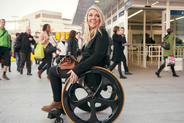 Carbon Black Wheelchair-7
